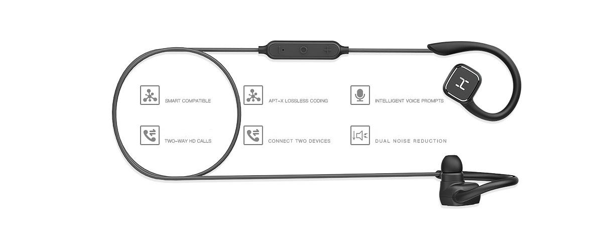 ecouteurs xiaomi avec accessoires et embouts de remplacements