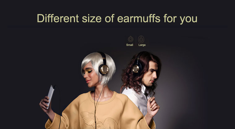 Xiaomi Casque Filaire Mi Headphone 2017 noir et or