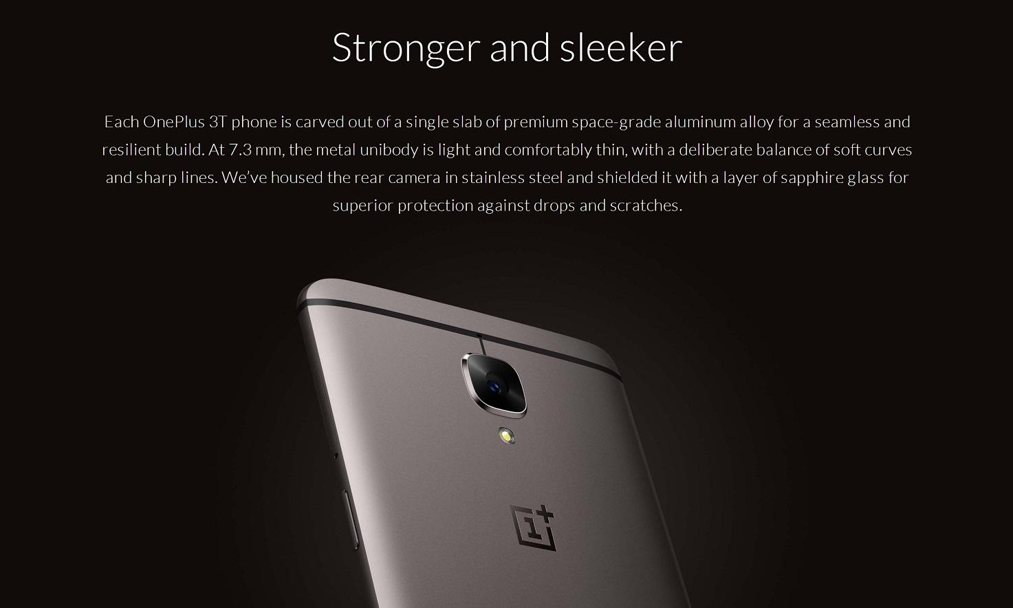 OnePlus 3T au meilleur prix