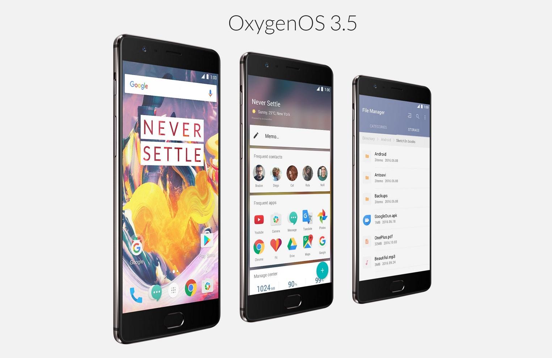 Commander OnePlus 3T